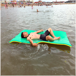200*100*3.3cm New design non-slip foam swimming floating mat/water floating water jet ski water park inflatable with great price