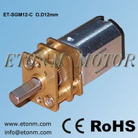 12mm 6v dc gear motor