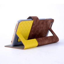 Soft Leather Material Mobile Phone Protective Case for iphone 6s with One Card Slot