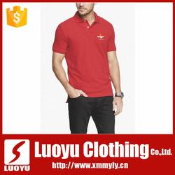 custom private label logo printing polo Tshirt with collar