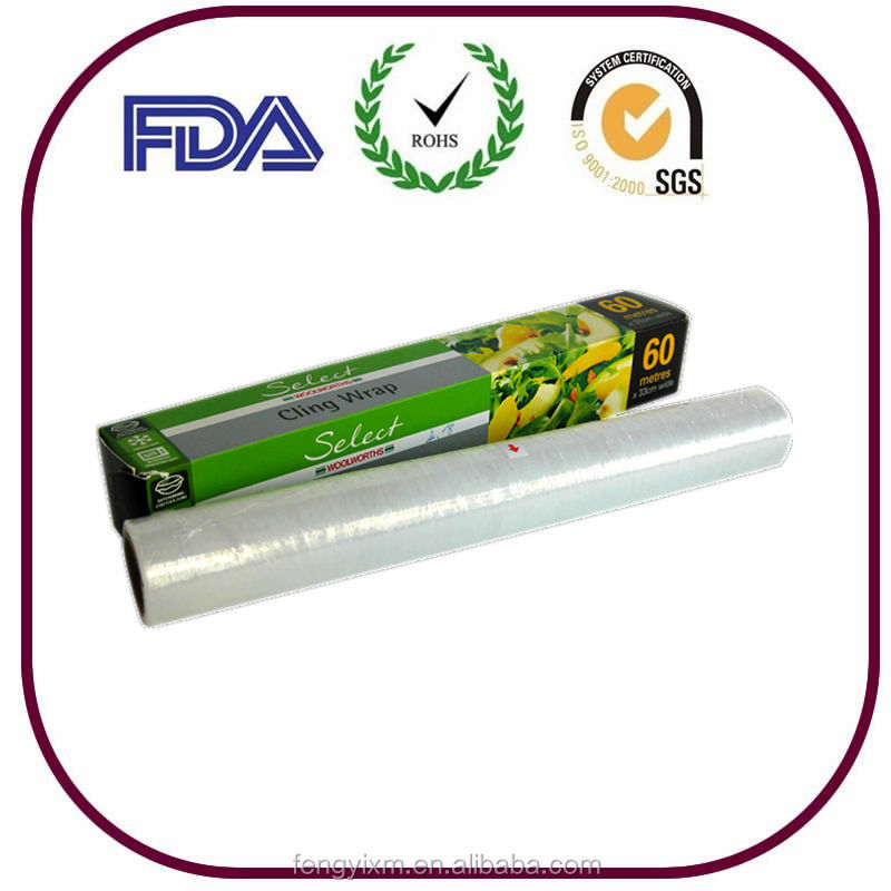 good quality food wrap cling film export