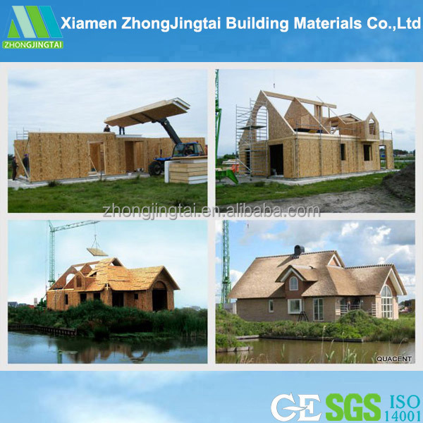 Pre fabricated home with construction supplies price