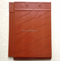 Wuxi superior flat/plain red clay roof tile price