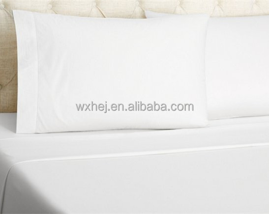 Wholesale 100% Polyester Microfiber Brushed 1800 Thread Count Solid Color Bed Sheet Sets