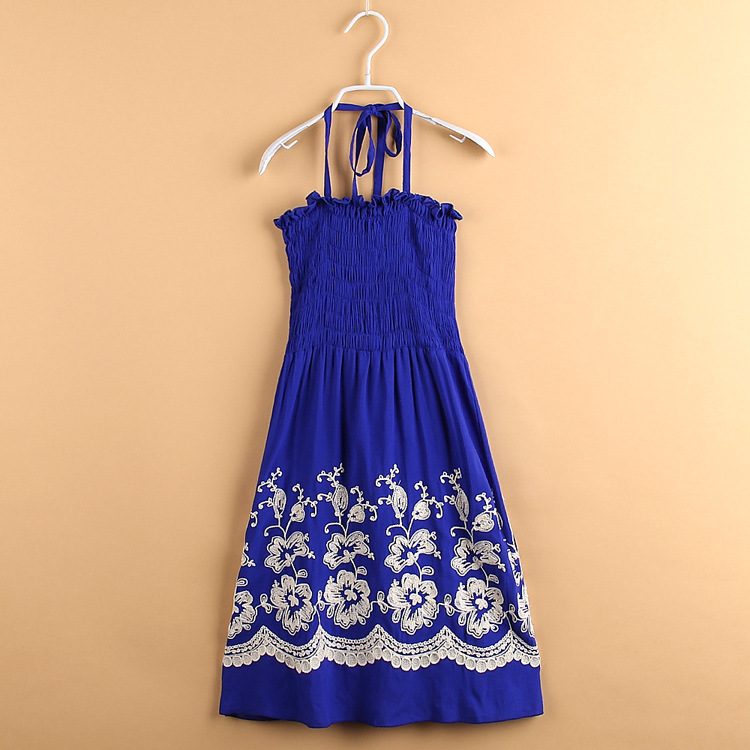 C71092A Indian Dress Designs For baby Girls long Dress