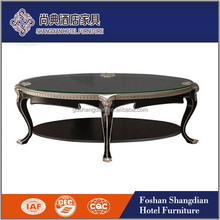 Wholesale latest designs wooden modern side table coffee table center table foshan