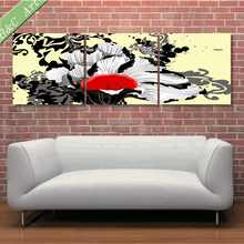 Canvas Wall Art Pictures Abstract Designs Flower Pattern Decorative Painting