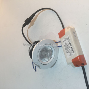 Norge lighting lower profile 48mm downlight 7.5watt led downlight with 80mm cut out