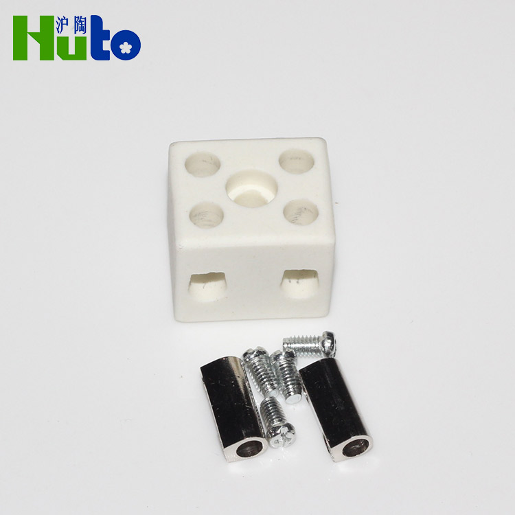 Cable Connecting Electrical Ceramic Screw Terminal Block