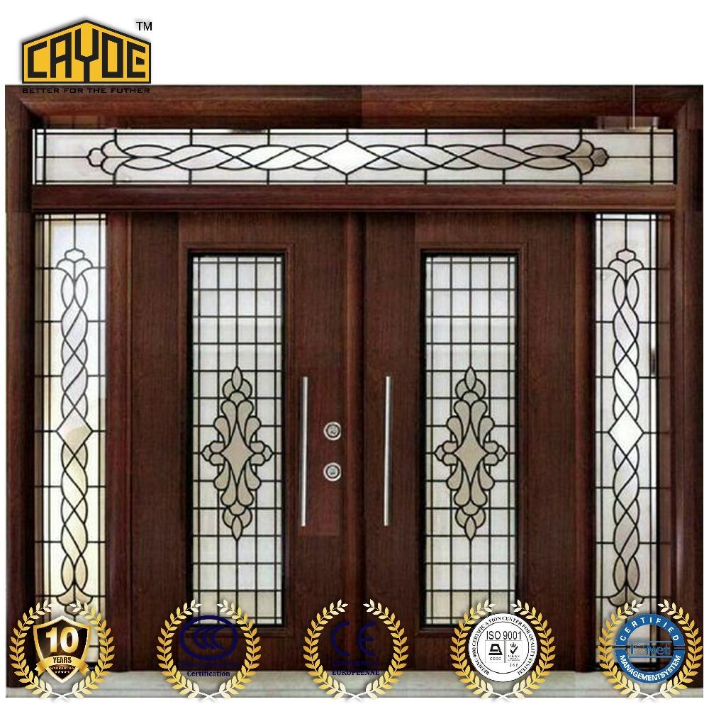Cayoe Aluminium Glass Outside Doors Front Door Designs Buy Glass