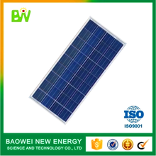 Baowei good quality poly cells pv module 250w 30v solar panel