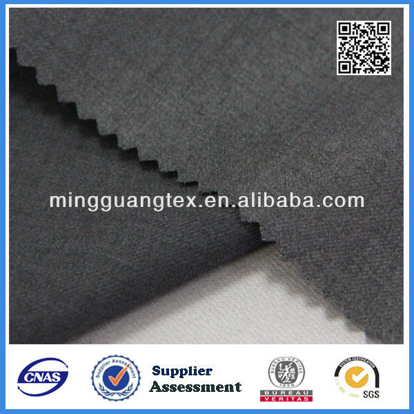 MG12425 heavey tr fabric for winter for warm up suits