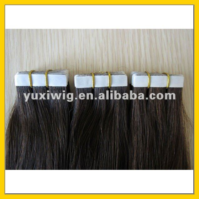 100% positive feedback various color luxury quality double side adhesive tape hair