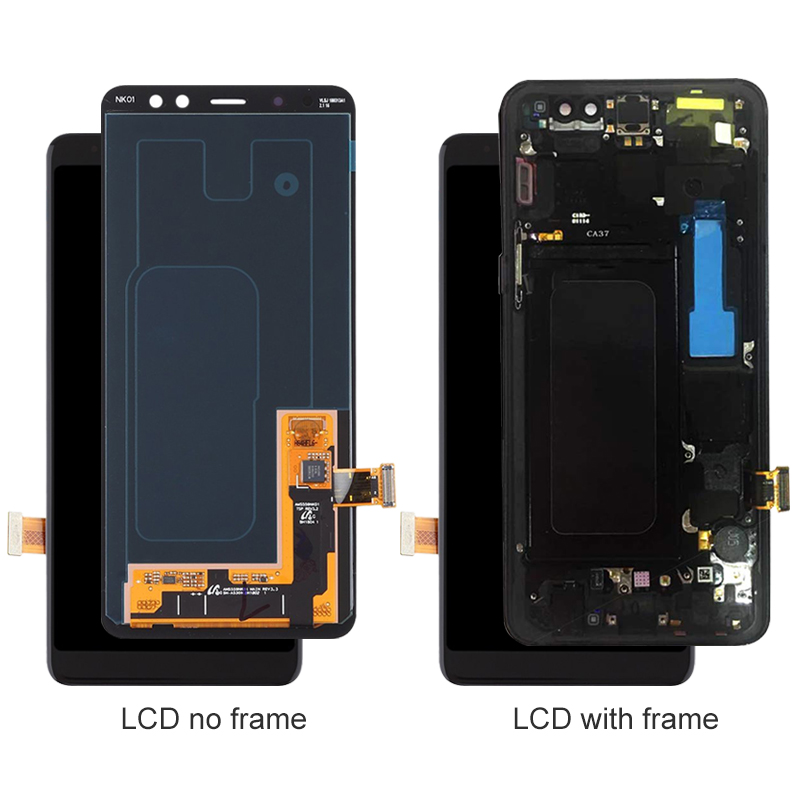 original For Samsung Galaxy A8 2018 SM-A530 A530F/DS/<strong>W</strong> LCD Display Touch Screen Digitizer pantalla assembly