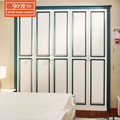 Wholesale cheap popular 5 doors wooden modern design bedroom furniture wardrobe