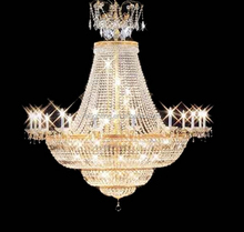 Crystal chandeliers 24k gold plated Islamic style chandelier lamp