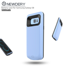 Mobile Phone 5000mah Power Case Portable External Battery Case For Samsung S8 Battery Charging Case