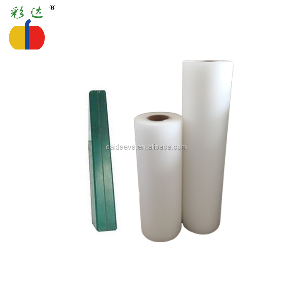 Tianjin Caida 0.38mm eva hot melt adhesive film for laminated glass