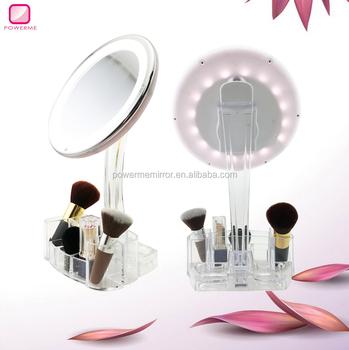 vanity mirror with lights desktop buy vanity mirror makeup mirror with lights organizer table. Black Bedroom Furniture Sets. Home Design Ideas