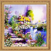 Needlework DIY Ribbon Cross Stitch Sets