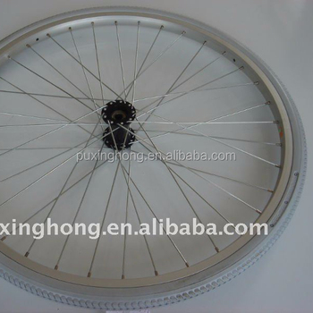 24 3/8 Wheelchair Tyre Made of Polyurethane Foam Filled Solid Tire