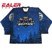 Team set sports ice hockey jersey sublimation wholesale blank made in china