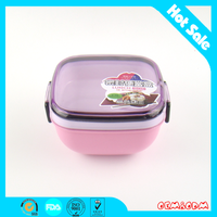 wholesale cartoon lunch box kids fashional lunch box plastic lunch box container with to cover