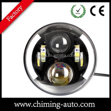 "2015 new 7"" inch round 80w led driving working light for truck offroad mining forest car with e-mark9"