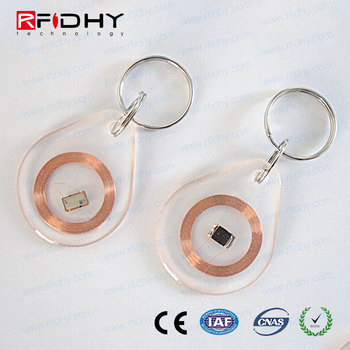 Good Quality ABS Material Wholesale RFID Key Fob