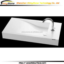 Economic best selling tempered basin bowl cabinet