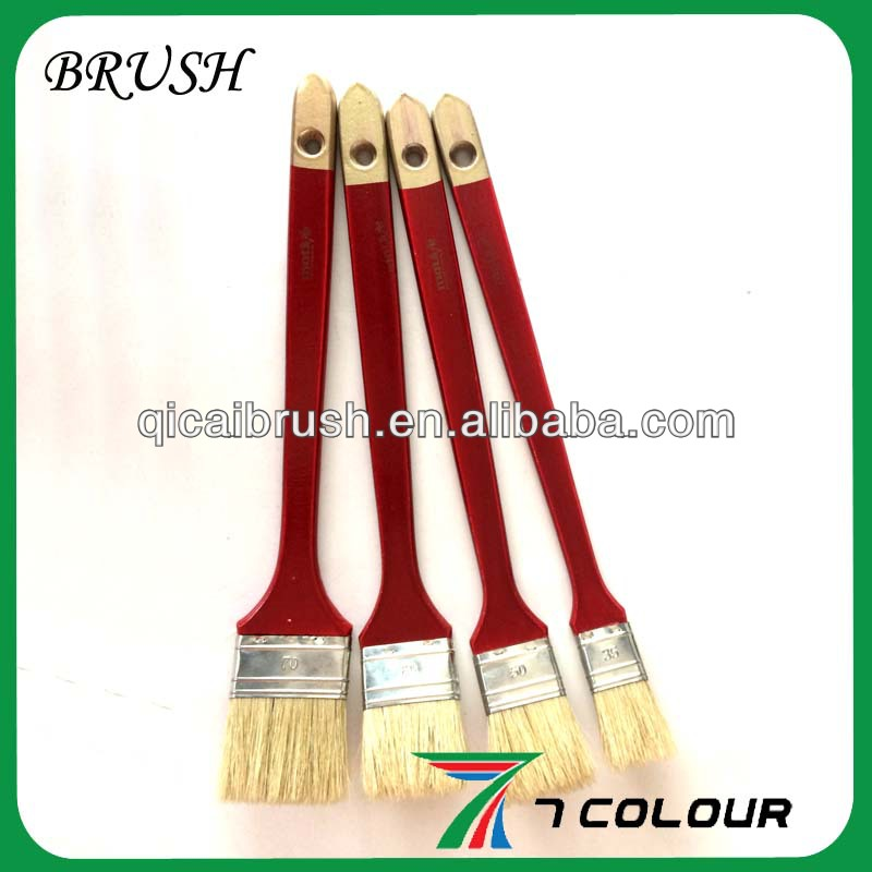 Paint Brush Long Handle,Paint Brush Extra Long Handle,Wooden Handle Paint Brush