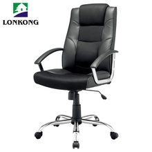 Swivel boss revolving manager office chair pu leather executive office chair