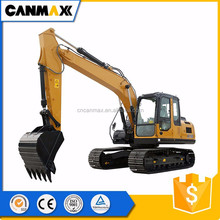 High performance Construction machine 14 ton crawler excavator for sale