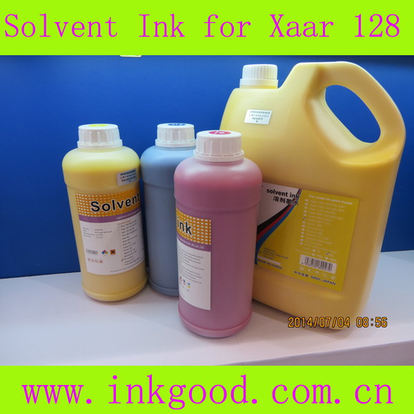 New arrival! high quality eco solvent ink for xaar 126/128 printer