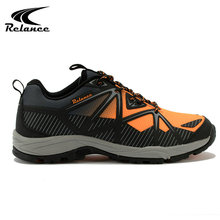 2017 Arrivals breathable mesh hiking hill climbing safety shoes