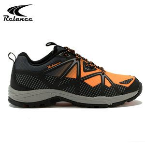 2018 Arrivals breathable mesh hiking hill climbing safety shoes