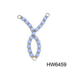 HW6459 Charm Rhinestone shoe accessories with deractive Bead