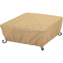 Patio Waterproof Square Fire Pit Cover Cover