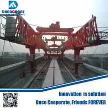 150 ton U model bridge beam girder erection launching gantry crane machine for Light Rail transit project (LRT)