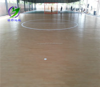 wearable waterproof pvc basketball flooring