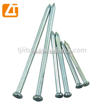 zinc coated concrete steel nail for construction