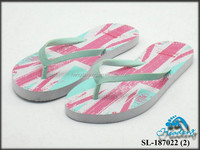 White cheap 15mm PE outsole flip flops