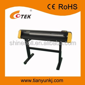 High quality wholesale cutting plotter Factory Optical eye vinyl cutter , USB sticker cutter with CE-SN-1100