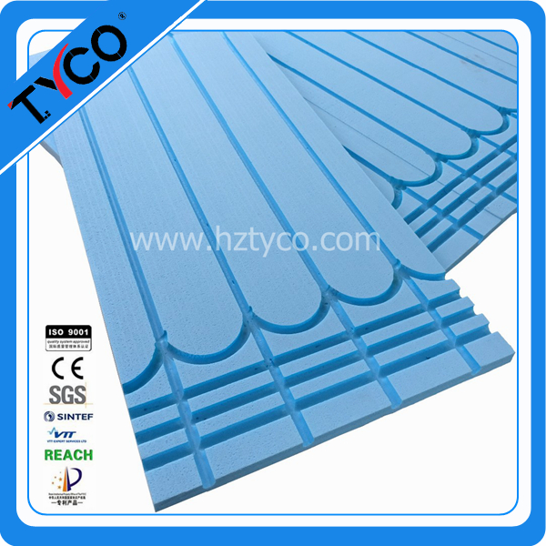 Lightweight Waterproof Underfloor Heating System in Heat Insulation