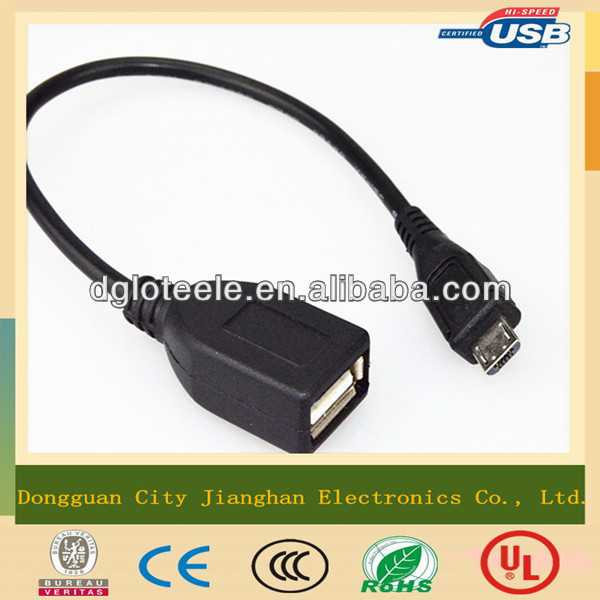 convenient extension charging black micro male to female usb 2.0 30cm short cable resonable price