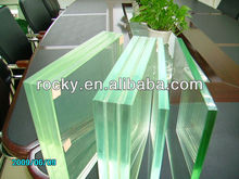 6-80mm high quality laminated glass unbreakable glass sheet