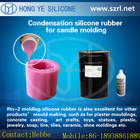 RTV liquid type of silicon rubber for candle craft mold making