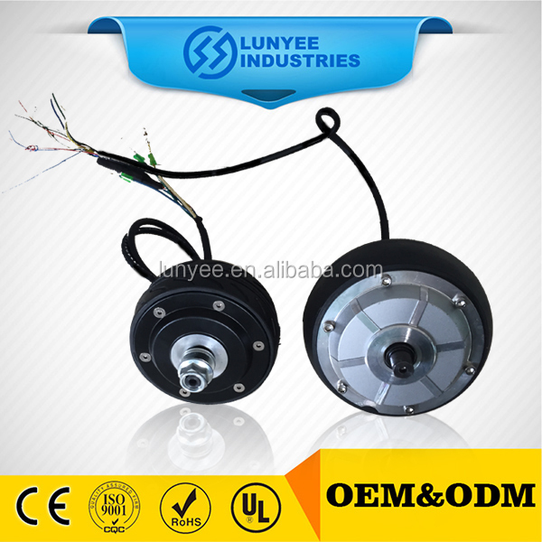 Brushless gearless BLDC 48V 1000W electric bicycle hub motor from China suppliers
