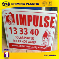 Corrugated Plastic Sign Board
