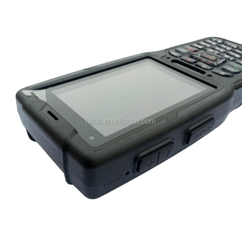 Factory direct wholesale 1D/2D barcode 480*320 5200 mah military ip65 Android 2D Handheld